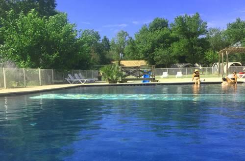 camping grande piscine gard cevennes HI ©