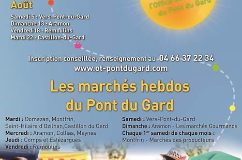 Un Marché , Une Histoire © OT Pont du Gard