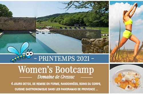 Women's bootcamp printemps 2021 © Domaine de Gressac