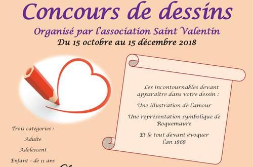 Fête de la Saint Valentin-Concours de dessins ©