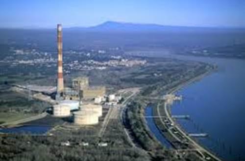 Centrale électrique d'Aramon ©