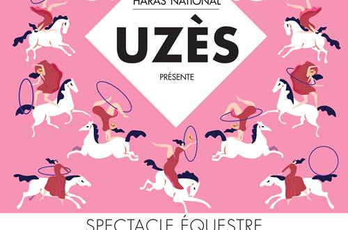 Spectacle au Haras National © Haras National d'Uzès