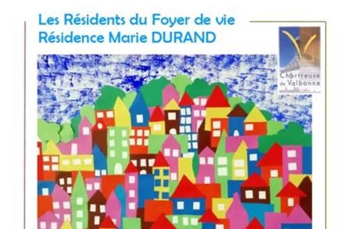 Exposition des résidents du foyer de vie Marie Durand ©