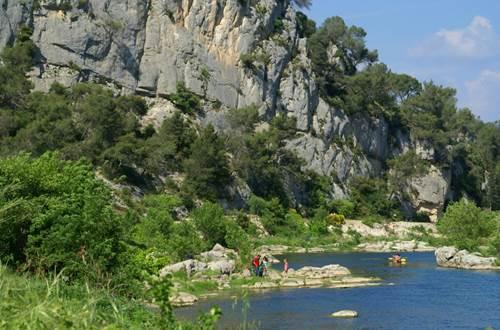 Les Gorges du Gardon- Escapades Nature Gard ©