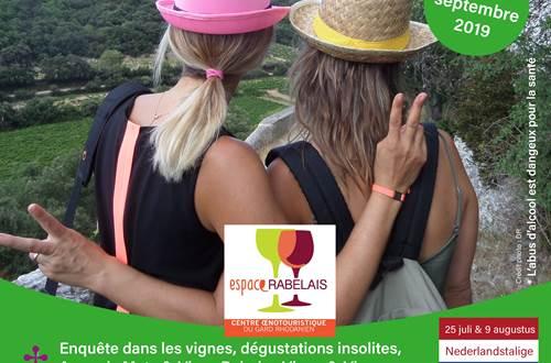 Balade Vigne et Vin à Gaujac © OT PROVENCE OCCITANE