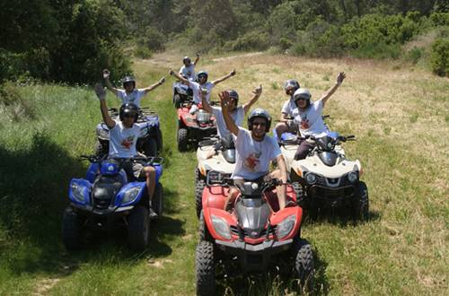 Escapade nature en quad ©