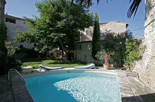 Maison de la Bourgade - piscine © Elisabeth Lallemand