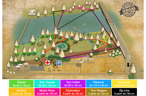 Plan indiana river ©