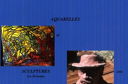 exposition aquarelles et sculptures ©