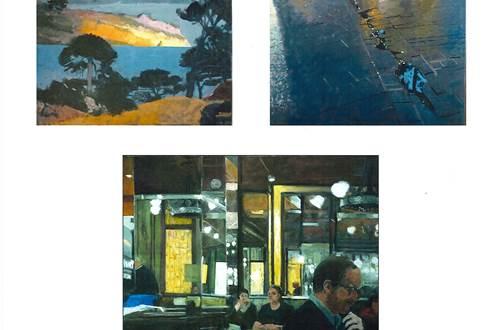 Exposition Rêverie et Partage - Peintures Oliver Bevan © Oliver Bevan