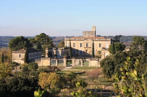 Château de Montfrin © Domaine des captives
