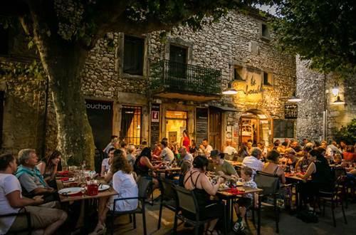 LeBouchon_R_Aiguèze_Terrasse_2018_Provence_Occitane_003 © Sud de France Développement