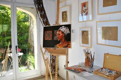 Sylvie Roussel Meric - l'atelier dans les vignes © Sylvie Roussel Meric - l'atelier dans les vignes