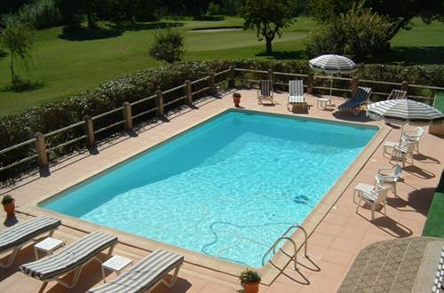 GOLF CLUB D'UZES piscine © ALLIER Maryse