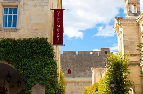 Hôtel VILLA MAZARIN Façade ©