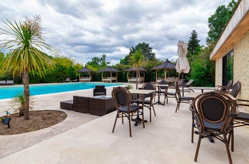 terrasse piscine ©
