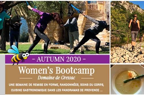 Women's bootcamp 2020 © Domaine de Gressac