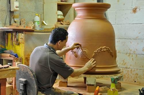 Potier Vase d'Anduze Chêne vert  ©