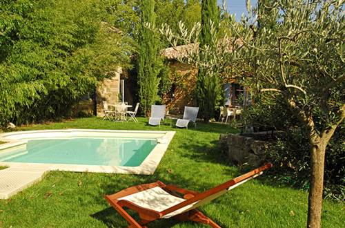 MAS THEOTIME piscine et jardin © GOURBEYRE Monique