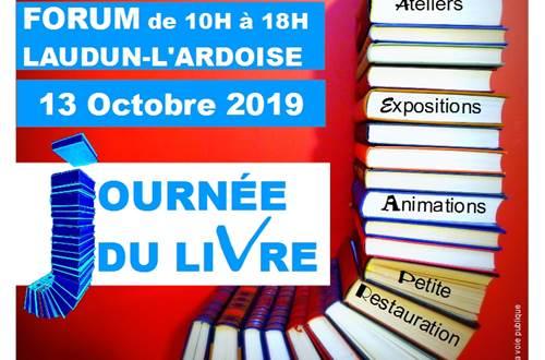 Journée du Livre à Laudun 2019 © Mairie de Laudun