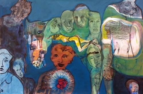 Exposition de peintuer au Jardin Médiéval Uzès © Ludovic Isidore