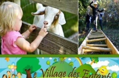 village des enfants à MONTAGNAC indication ©