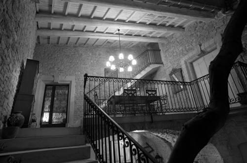 BARTHELEMY Marie - chambre croissant de lune escalier © BARTHELEMY Marie