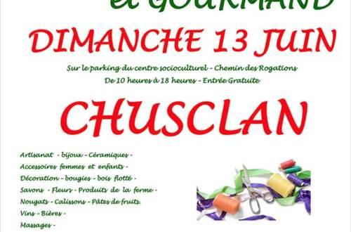Marché artisanal de Chusclan 13 juin ©