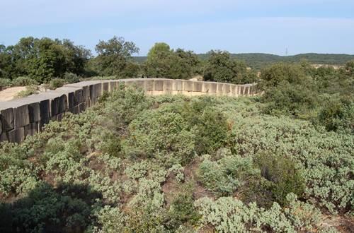 sentier interprétation pierre pont du gard ©