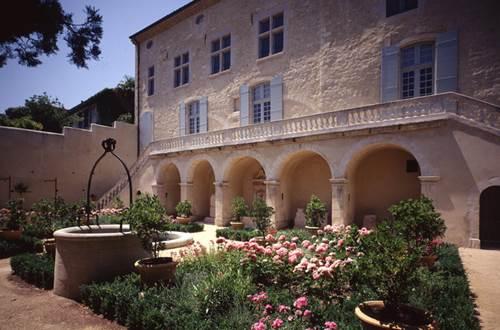 Maison des Chevaliers - Musée d'Art sacré - Jardin © Conservation des Musées du Gard