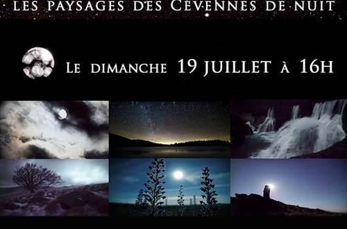 affiche du film Cévennes nocturnes © Carole Reboul