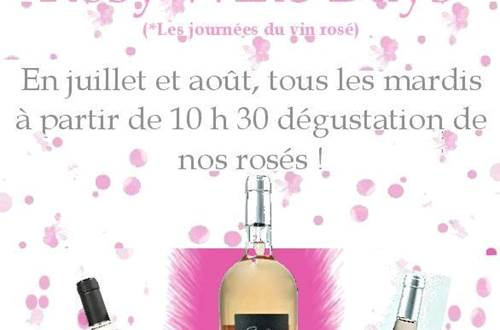 Rosy Wine Day 4 chemins © Cave des 4 chemins