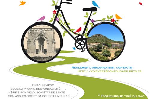 Fête nationale des voies vertes © Voie verte Pont du Gard