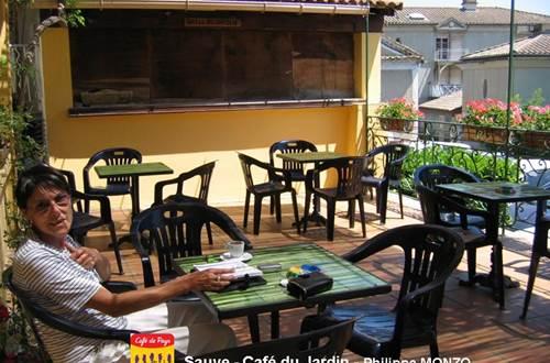 Café du Jardin terrasse ©