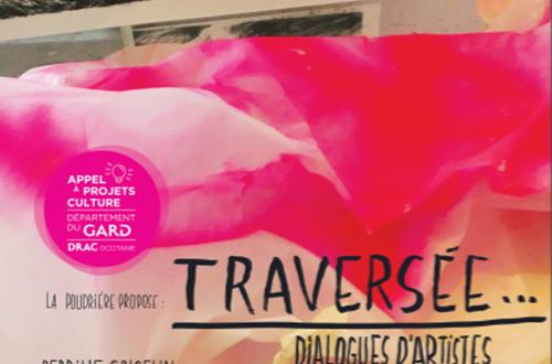 Exposition au Pont du Gard - Traversée... Dialogues d'artistes ©