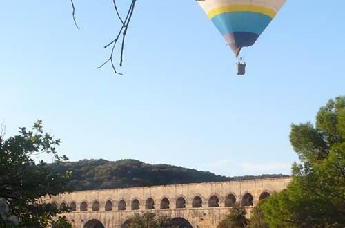 Les Montgolfières du Sud - Uzès Pont du Gard © Les Montgolfières du Sud