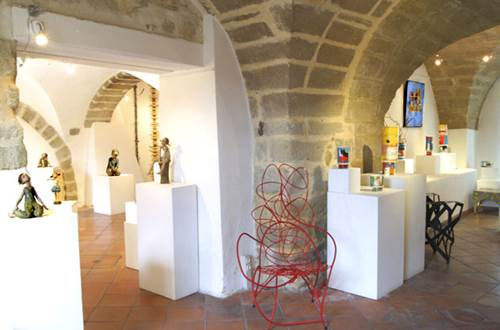 Galerie TERRA VIVA - St Quentin la Poterie © Galerie Terra Viva