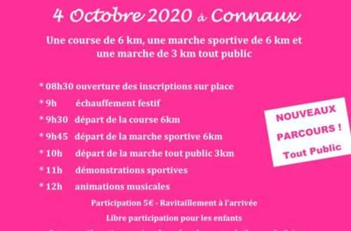 Les foulées d'octobre rose 2019 © CCAS et Mairie de Connaux