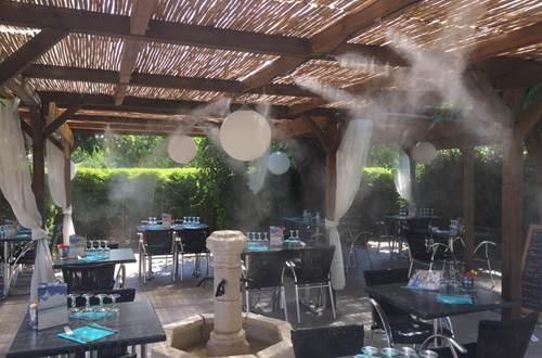 Restaurant Les Terrasses du Gardon ©