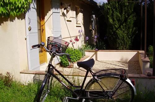 LE MAZET DE MANON vélo © PAILLE Rachel