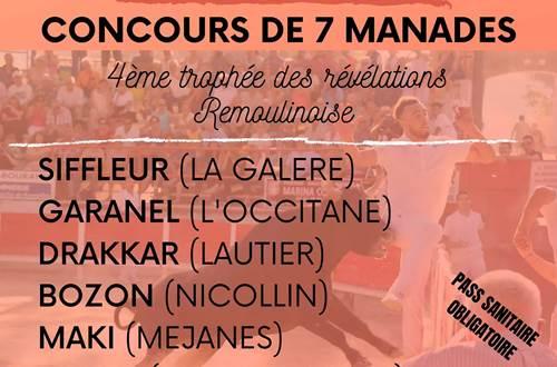Course camarguaise © Union Taurine de remoulins