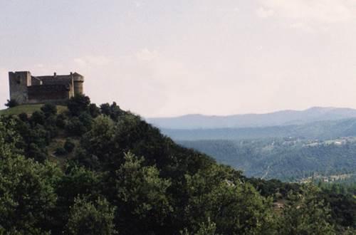 château du cheylard d'aujac ©