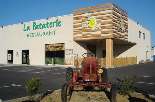 Restaurant La Pataterie à Alès en Cévennes ©
