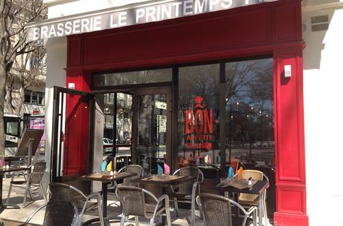 Brasserie le Printemps ©