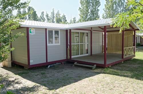 Lodge Confort 6 à 8 Personnes Camping de l'Espiguette © LEGDRDEV