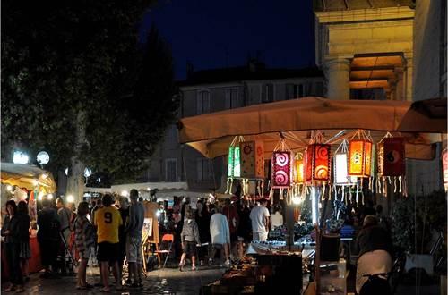 Marché Nocturne d'Anduze ©