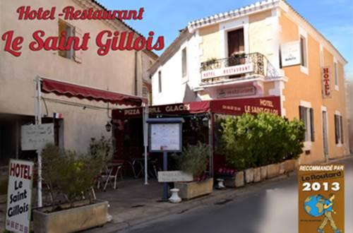 Hôtel Le Saint-Gillois ©