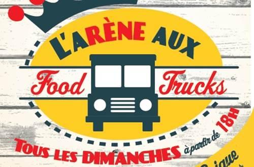 Arènes aux foods trucks © mairie saint-laurent-des-Arbres