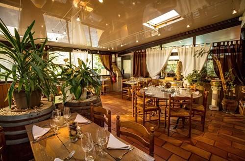Salle du Restaurant Le Baccus de l'Auberge d'Uzès © Auberge-d'Uzès photo-aspheries
