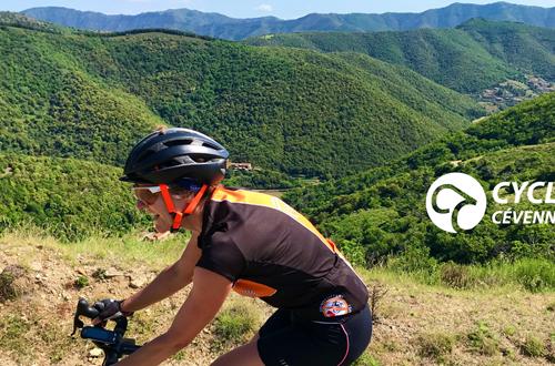 Cyclo Cévennes Montée Col des Vieilles ©